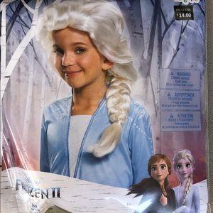 Frozen II- New Elsa wig for kids